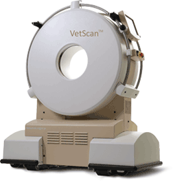 VetScan Portable 8-slice large and small animal CT